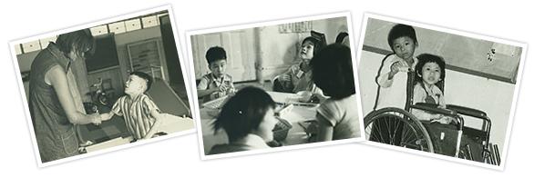 於1963年創立「香港痙攣兒童會」服務歷史相片